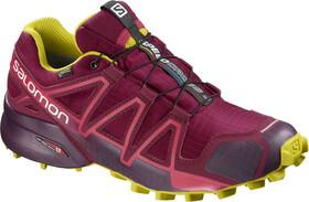 Salomon Speedcross 4 GTX Shoes Dame beet redpotent purplecitronelle
